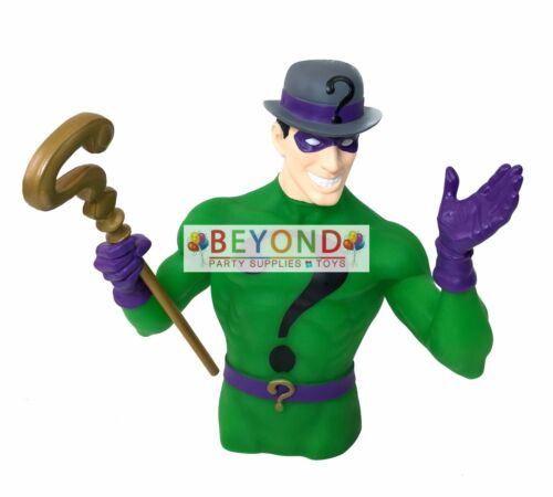 The Riddler Molded Bust Bank Classic DC Universe 3D Figure Collectible Coin Bank
