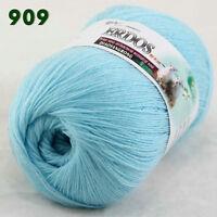 Sale 1 ballx50gr LACE Soft warm Crochet Acrylic Wool Cashmere hand knitting Yarn