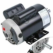 5 Hp Compressor Duty Electric Motor Single Phase 3450 Rpm 78 Inch Shaft 230v