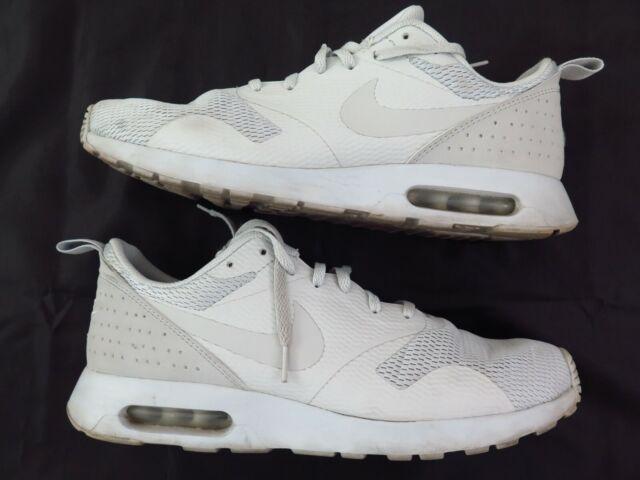 Size 12 D NIKE Men's AIR MAX TAVAS Sneaker Shoes Pure Platinum Neutral Grey