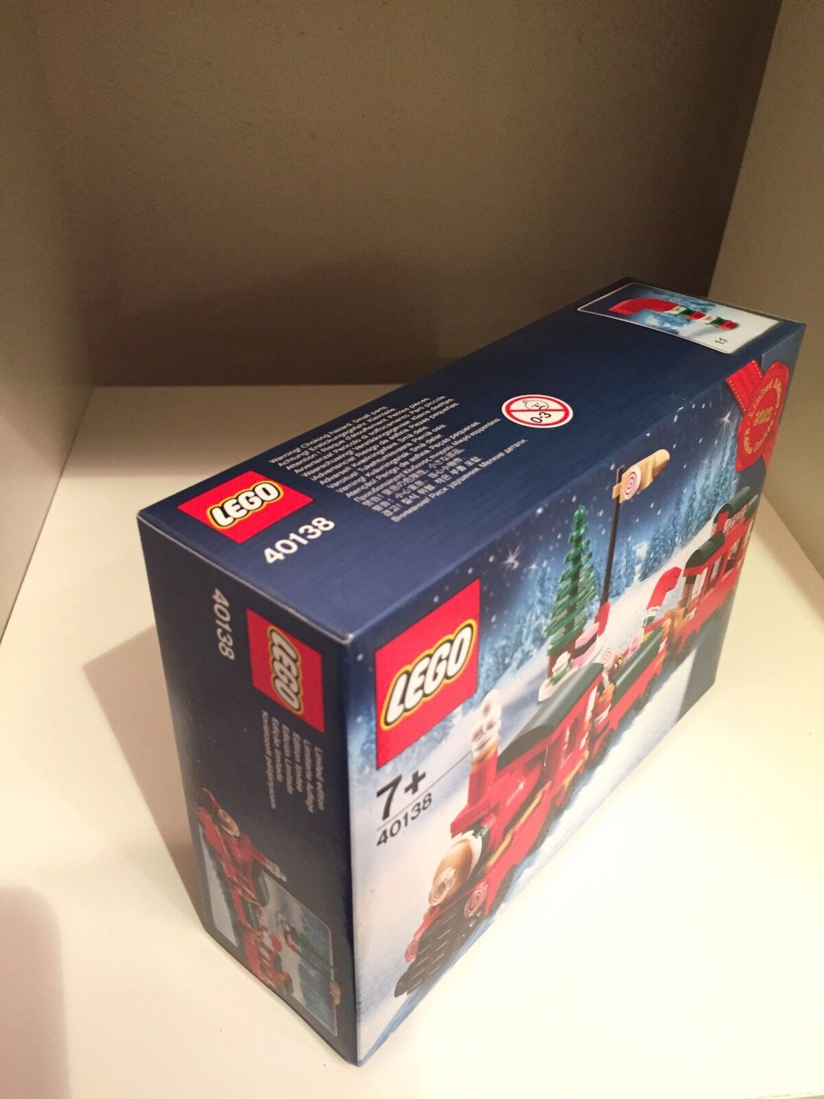 LEGO CHRISTMAS TRAIN TRAIN TRAIN 40138 LIMITED EDITION EXCLUSIVE HOLIDAY 2015 NEW SEALED 6e2fd6