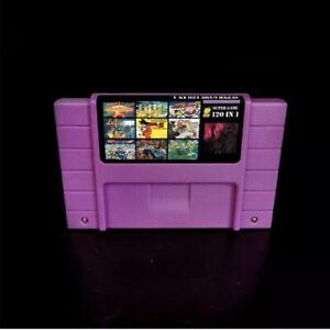 Super-120-in-1-for-Nintendo-SNES-Multi-Cart-Game-Cartridge-Battery-Save-NTSC-U-C