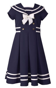 Bonnie-Jean-Girls-Easter-Nautical-Sailor-School-Uniforms-4th-July-Navy-Dress