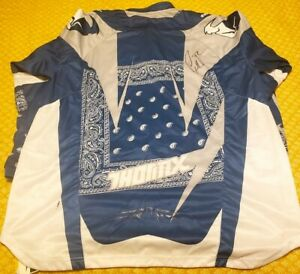 Chad Reed autographed signed auto Thor Core blue motocross supercross jersey COA