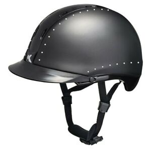 KED-Tara-Farbe-black-matt-glossy-crystal-Groesse-M-52-58-cm