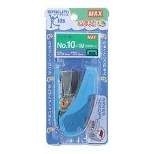 Max Japan Sakuri Kids Stapler Hd 10nlck Blue