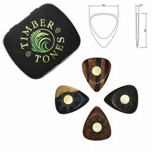 Timber-Tones-039-Sun-Tones-039-Gift-Tin-of-4-Mixed-Picks-Plectrums