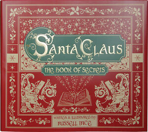 SANTA-CLAUS-THE-BOOK-OF-SECRETS-Children-039-s-Christmas-Story-Book-HARDBACK