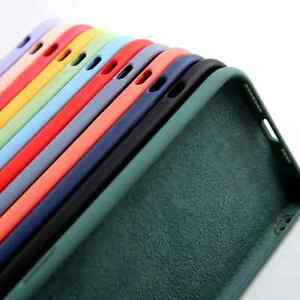 Coque Etui Silicone Apple/Samsung Galaxy 6/6s/7/8/Se/X/XS/ XR/11/12/Pro Max A71.