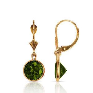 14k Massiccio Nero Verde Smeraldo Rotondo Corona Set Levetta Posteriore Elegant And Graceful Gemstone