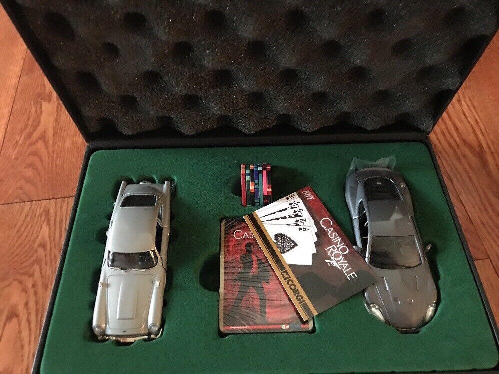 JAMES JAMES JAMES BOND 007 CORGI POKER TOYS GIFT SET,UNUSED MINT,JAMES BOND CAR SET d54d7b
