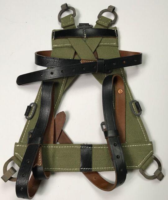 WWII GERMAN M1931  CANVAS KNAPSACK EQUIPMENT SUSPENDER A-FRAME