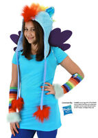Elope Rainbow Dash Hoodie Hat Free Us Shipping