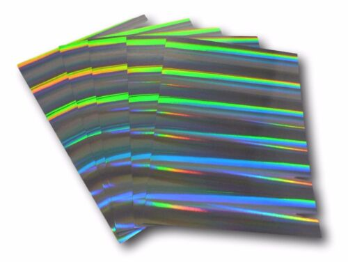 100 A4 SHEETS SILVER HOLOGRAPHIC CARD PILLARS OF LIGHT CARD LASER CARD