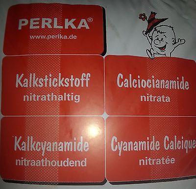 Transportschaden 22 - 25 kg Perlka® Kalkstickstoff Dünger für Weide Pferdeweide