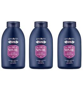 3pz PROKRIN aceite NO para el cabello fijador natural 200 ml productos NUEVO