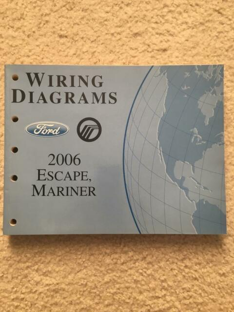 2006 Ford Escape Mariner Wiring Diagrams Oem