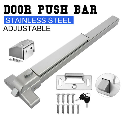 Door Push Bar Panic Exit Device Stoving Vanrish Emergency Lock made 400 Series.