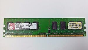 Kingston 1GB DDR SDRAM PC Memory Card KVR800D2N6 1G 18V 9931035