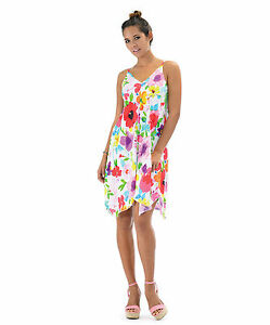 NEW-Jams-World-Caprice-Dress-Maroschino-Hawaiian-Sundress-XL-Made-in-USA