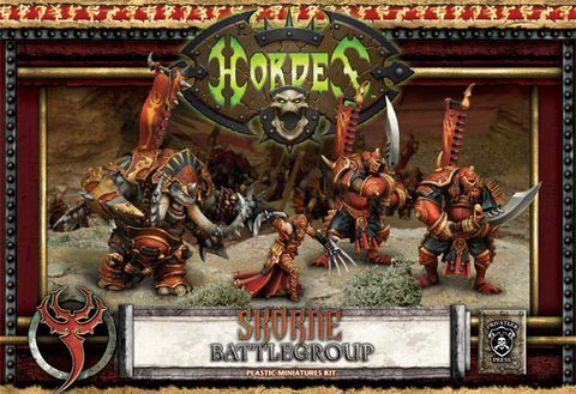 Skorne Tyrant Xerxis battelgroup Limited Edition Hordes Privateer Press
