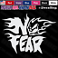 No Fear Flaming Skull Logo JDM Car Truck Window Laptop Vinyl Decal Sticker.