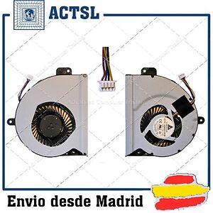 K53SJ Nw Fan X43SC CPU X43S 4 A53S Asus For A43 pin KSB06105HB X53S K53S K43 X43 PrPdTa5g