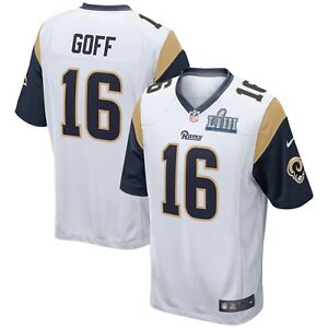 9cfeab4e0 Jared Goff Los Angeles Rams Nike Youth Super Bowl LIII Bound Game ...