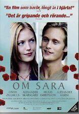 DVD OM SARA, Alexander Skarsgård, schwedisch, svenska, 2005, UT Englisch