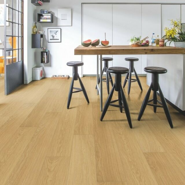 Quick Step Laminate Flooring Impressive Im3106 Natural Varnished Oak 3 Packs