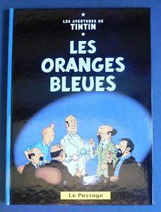 TINTIN-PASTICHE-LES-ORANGES-BLEUES-Hors-Commerce-cartonne-24-pages-par-Faberge