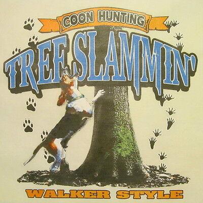 COON HUNTING COONDOGS SHIRT #500-I TREE SLAMMIN/' REDBONE HOUNDS STYLE ...