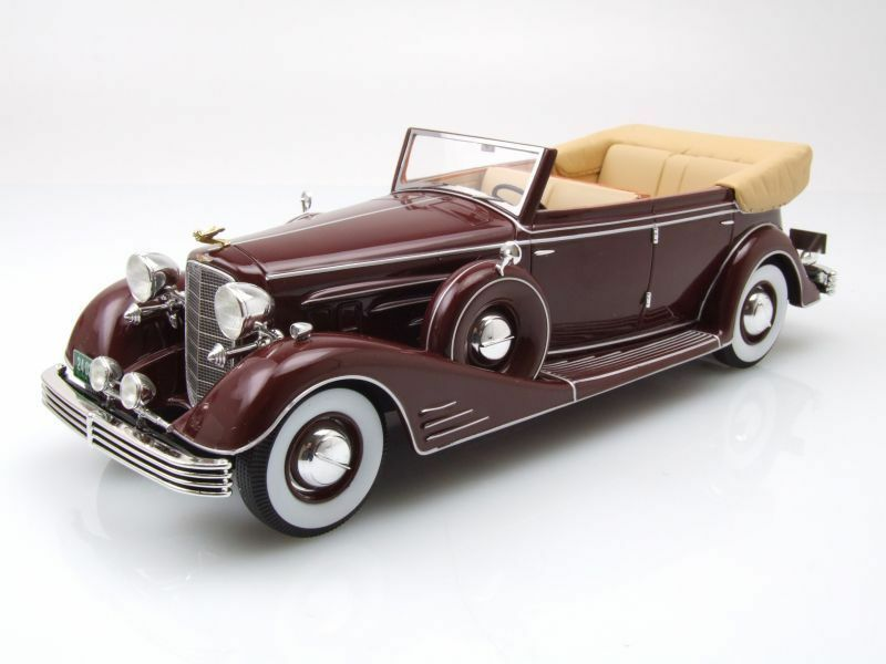 Cadillac fleetwood allweather phaeton cabriolet open 1933 neoscale 24 neo24020
