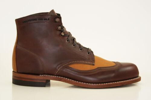 W06000 Boots Wingtip 1000 Us Mile Addison Gr Schnürstiefel 45 12 Wolverine W4vBpAA