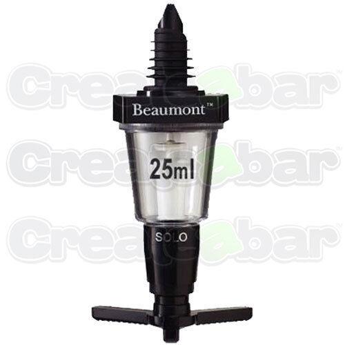 Beaumont 25ml Solo Pub Spirit Measure - Bar Optic