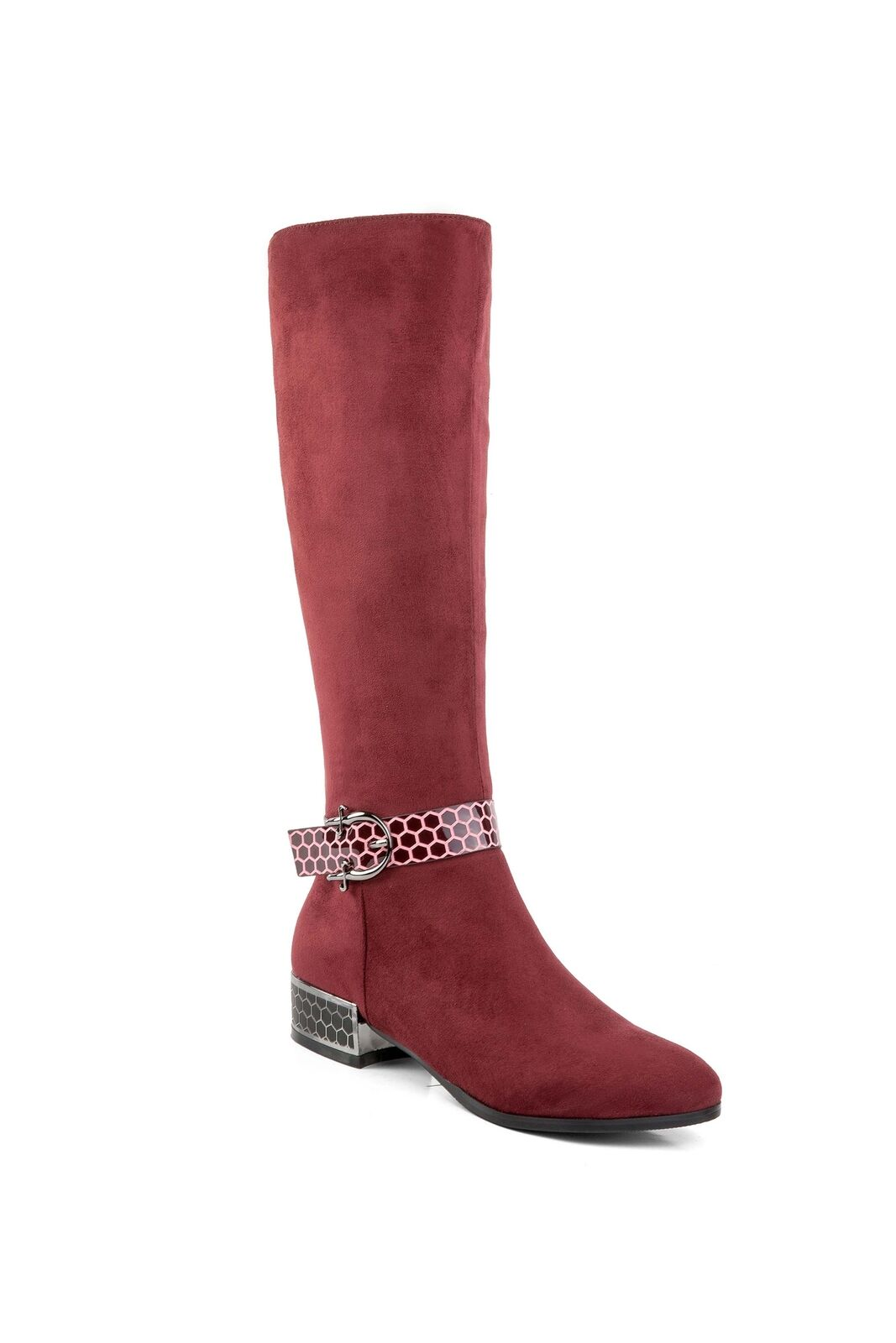Ann Creek Women's 'Orizea' Beehive Patterned Straps Boots