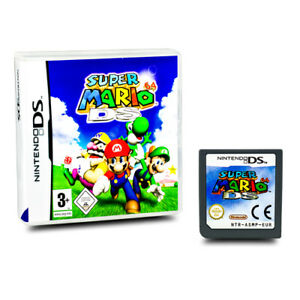 Original-nintendo-Jeu-DS-Super-Mario-64-DS-Emballage-D-039-Origine-sans-Manuel-A