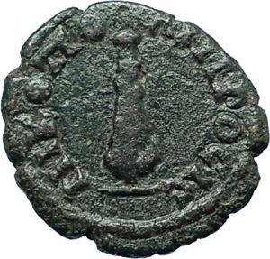 SEPTIMIUS SEVERUS Nicopolis ad Istrum Ancient Roman Coin HERCULES CLUB i66155