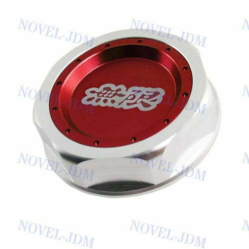 RED X1 JDM MUGEN Engine Oil Filler Cap Cover Fit for HONDA CIVIC ACCORD ACURA