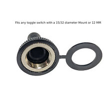 Industec Switch Rubber Boot Waterproof Dustproof Cover For 12mm Toggle Switch
