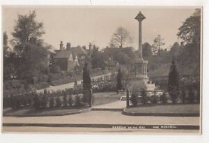 Harrow-on-The-Hill-War-Memorial-RP-Postcard-B730