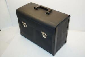 New-OLD-Stock-Facom-FRANCE-Leather-Technicians-Tool-BOX-Drawer-Case-549-USD