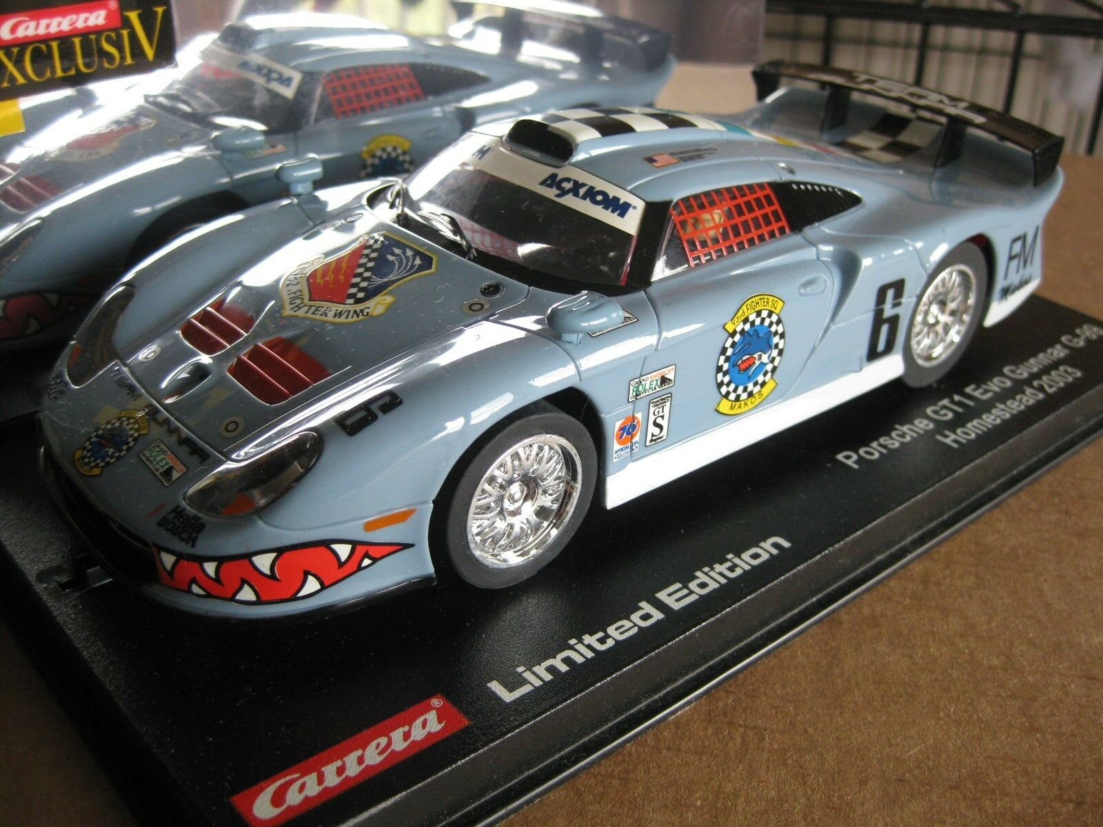 Carrera Exclusiv Analog SLOT CAR 1 24 scale  Rare Limited Edition
