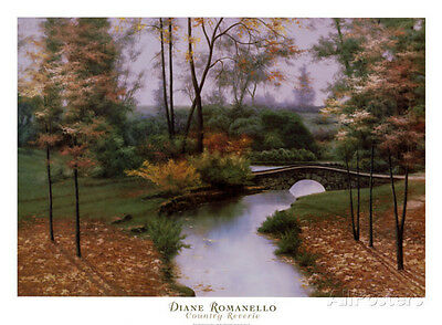 September Song by Diane Romanello Country Landscape Art Print Poster 28x38
