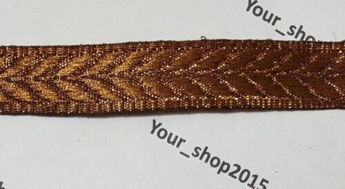 Beautiful stylish embroidered pattern lace trimming Ribbon making craft 1 Yard