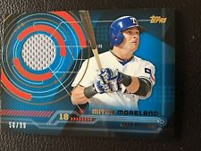 2014 Topps Trajectory Relics #TR-MMO Mitch Moreland Texas Rangers Baseball Card