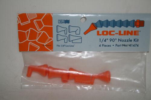 "Loc-Line 1//4/"" Hose 90 Deg Assorted Nozzles Kit 41474 NEW!!!"