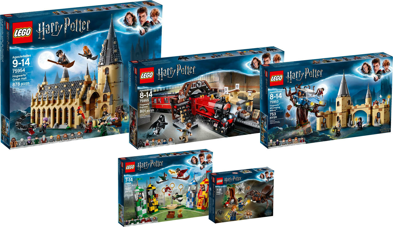 Lego Harry Potter 75956 75955 75954 75953 75950 collection n10  18  offre spéciale