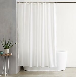 Make Happy Camper Waterproof Fabric Shower Curtain Bathroom Drapes Panel w//Hooks