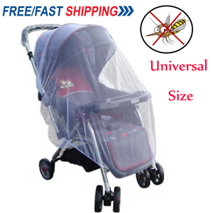 Baby-Infant-Stroller-Pushchair-Pram-Mosquito-Fly-Insect-Net-Mesh-Buggy-Cover-ZO